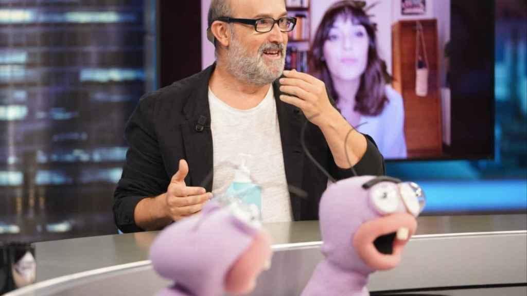 Javier Cámara, este miércoles en 'El Hormiguero'.