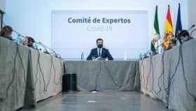 El presidente de la Junta de Andalucía, Juanma Moreno, preside el comité de expertos.