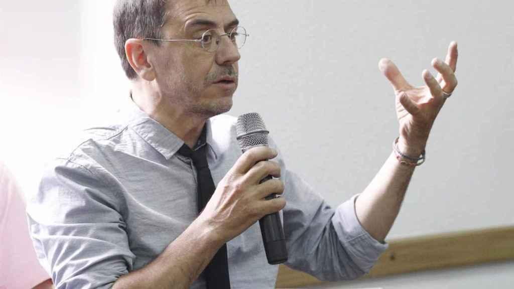Juan Carlos Monedero./