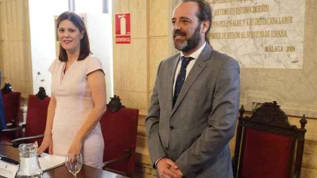 Noelia Losada y Juan Cassá en 2019