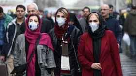 Un grupo de mujeres en el Gran Bazar de Teherán.
