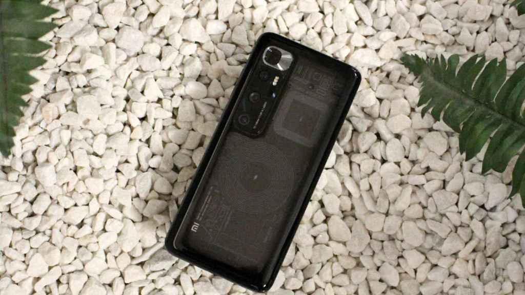 Así es el Xiaomi Mi 10 Ultra transparente