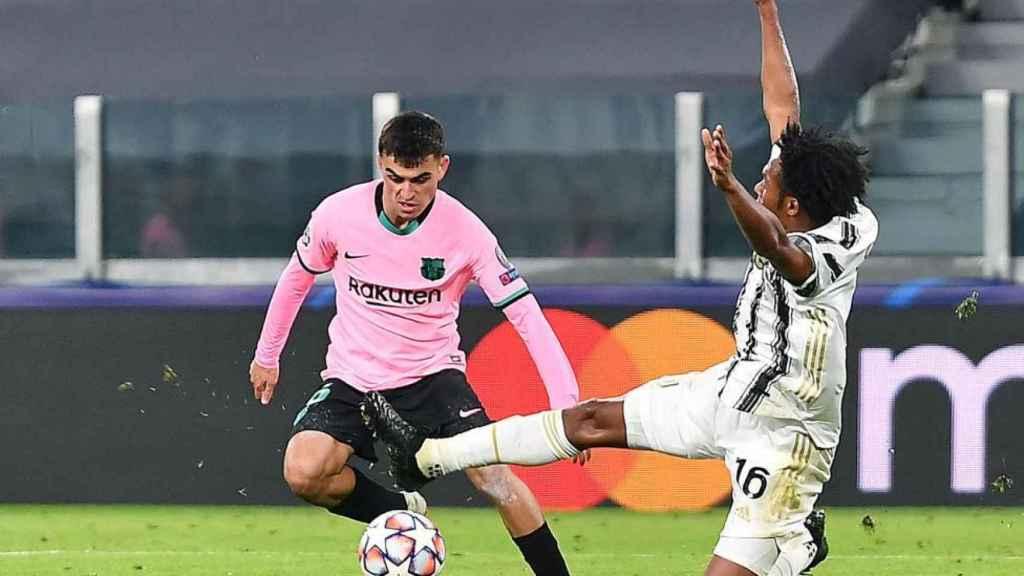 Pedri, contra la Juventus