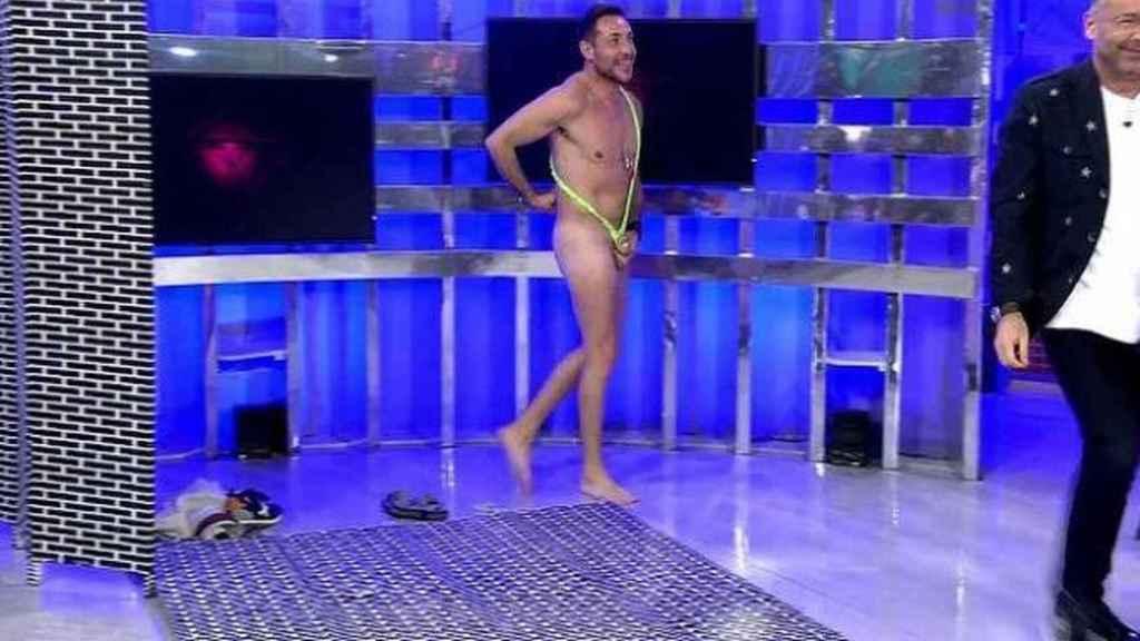 Antonio David Flores es el nuevo concursante de 'Quiero dinero'.