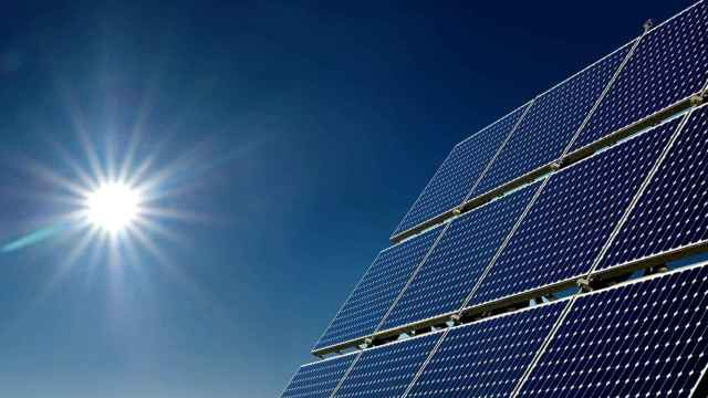 fotovoltaica con sol