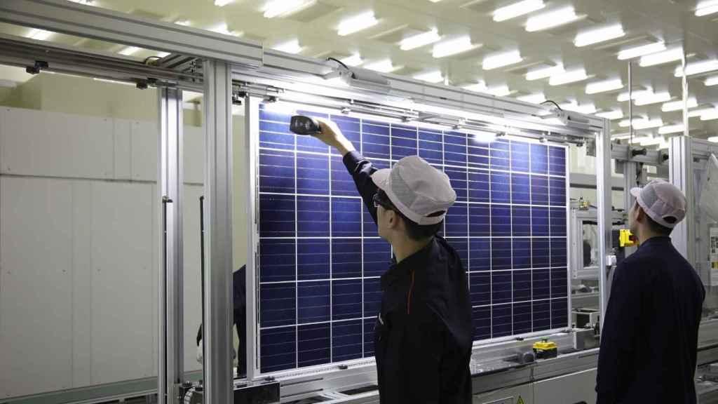 Fábrica de módulos solares de Hanwha Q Cells