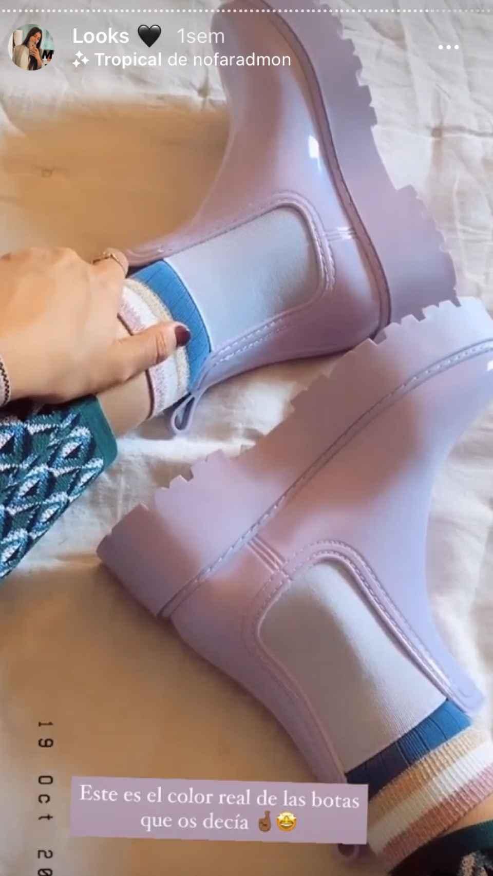 Las botas de agua de Asos que han conquistado a María García de Jaime.