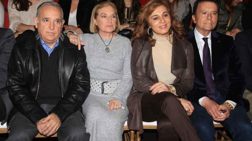 José Antonio Rodríguez, Gloria Mohedano, Ana María Aldón y José Ortega Cano.