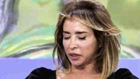 María Patiño durante su confesión en el programa 'Sálvame'.