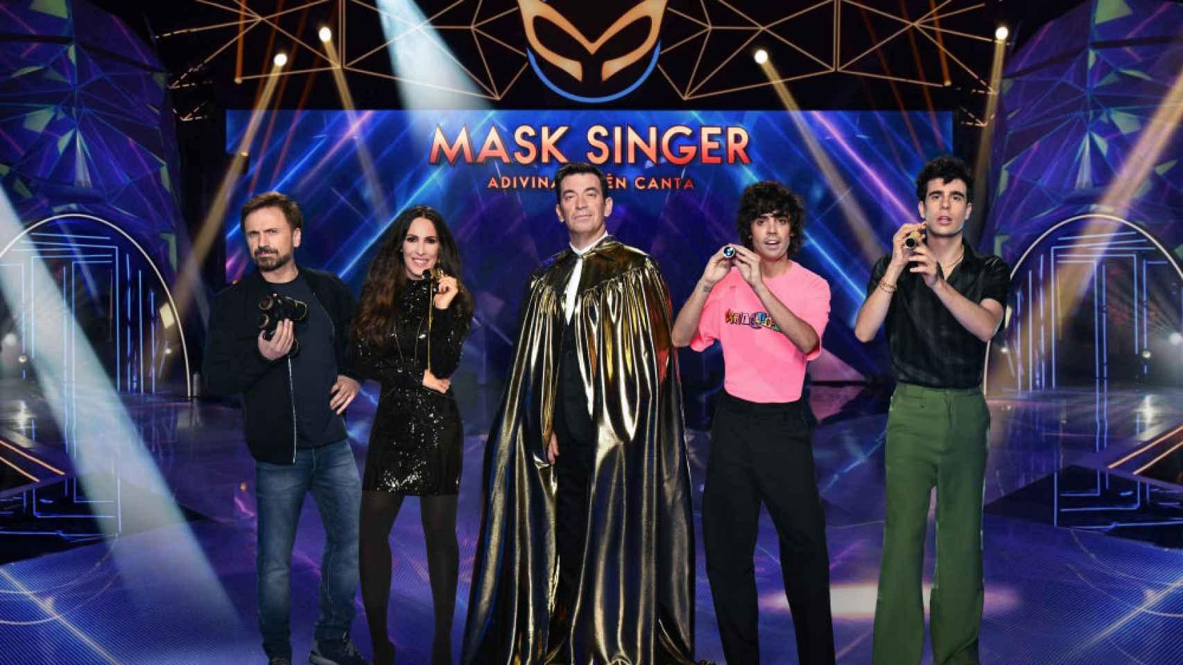 'Mask singer' arranca este miércoles 4 de noviembre en Antena 3.