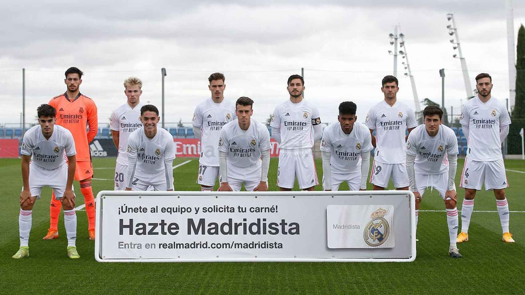 Once del Real Madrid Castilla