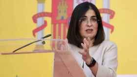 La ministra de Política Territorial y Función Pública, Carolina Darias. Foto: Jorge Gil - Europa Press