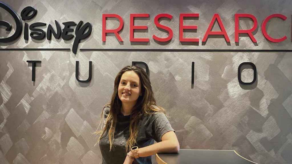 La ingeniera española Irene Baeza, en las instalaciones de Disney Research de Zúrich.