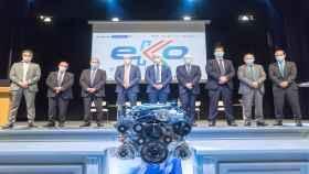 BBK y BeGas producen motores ecológicos en sus plantas industriales de Vizcaya
