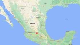 El lugar donde se han encontrado los cuerpos, en México.