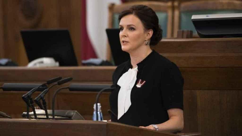 La parlamentariaJulija Stepanenko, conocida por su activismo contra el colectivo LGTB.