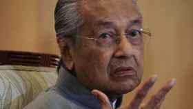 El ex ministro malasio Mahathir Mohamad.