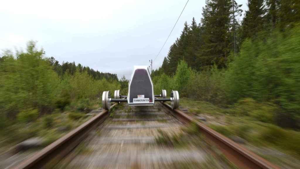 El Eximus IV, vehículo más eficiente del mundo