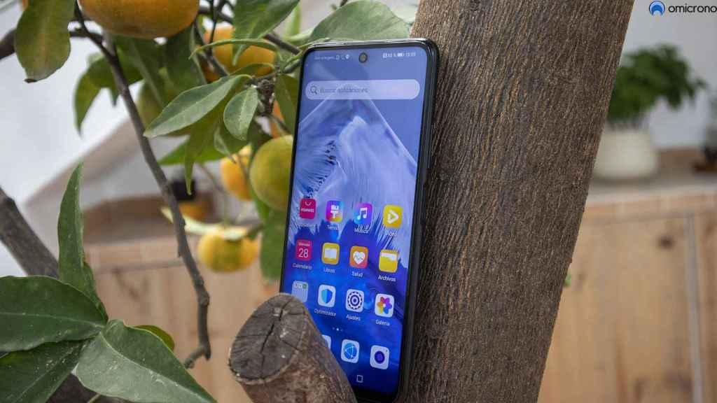 Pantalla del Huawei P Smart 2021.