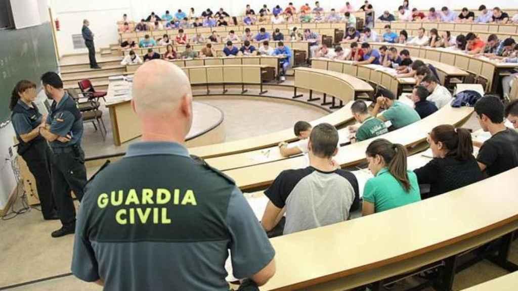 Oposiciones a la Guardia Civil.