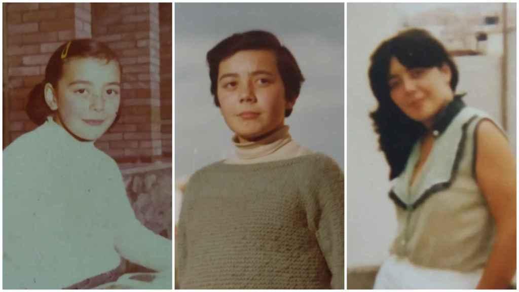 La difunta Toñi durante su infancia.
