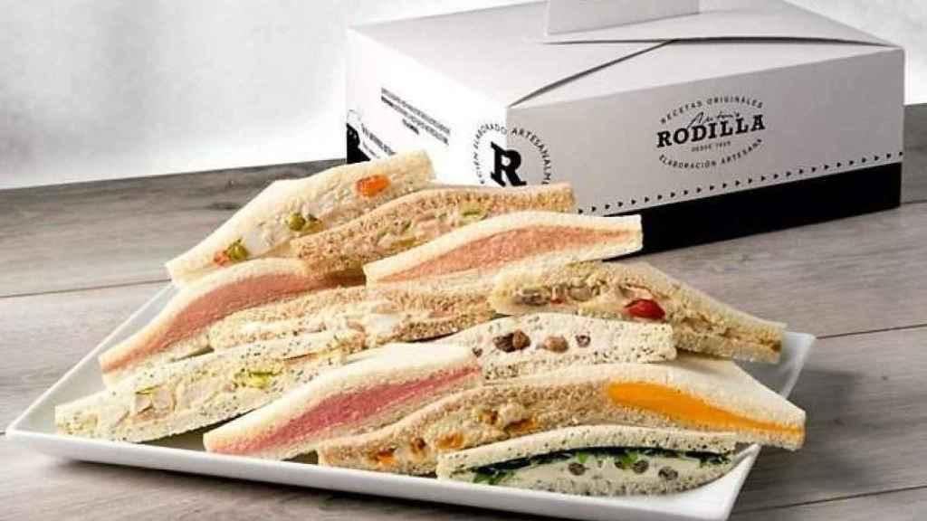 Sandwiches de Rodilla.