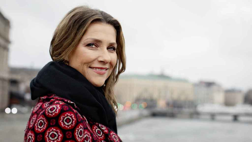 Marta Luisa de Noruega, en un posado en Estocolmo.