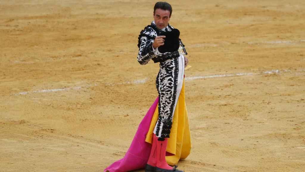 Enrique Ponce toreando en Granada.