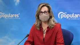 Lola Merino, portavoz del PP en las Cortes de CLM