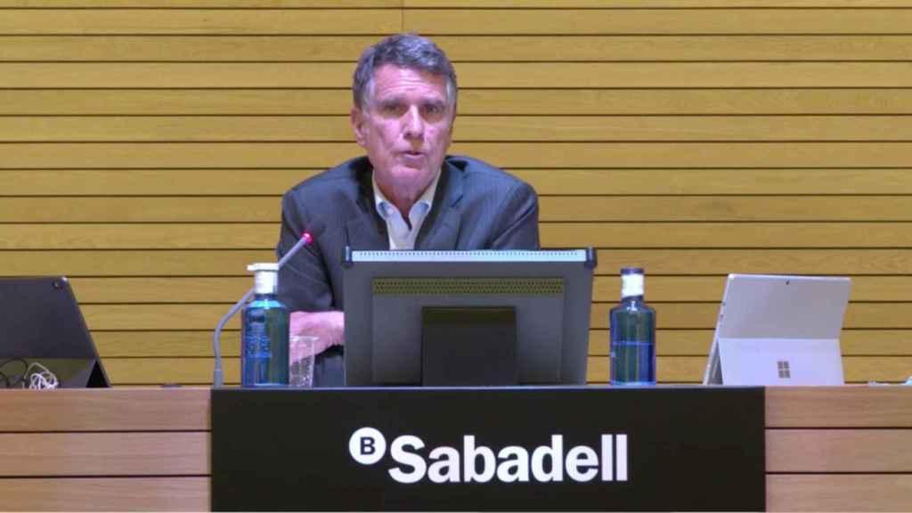 Jaime Guardiola, CEO de Banco Sabadell. EE