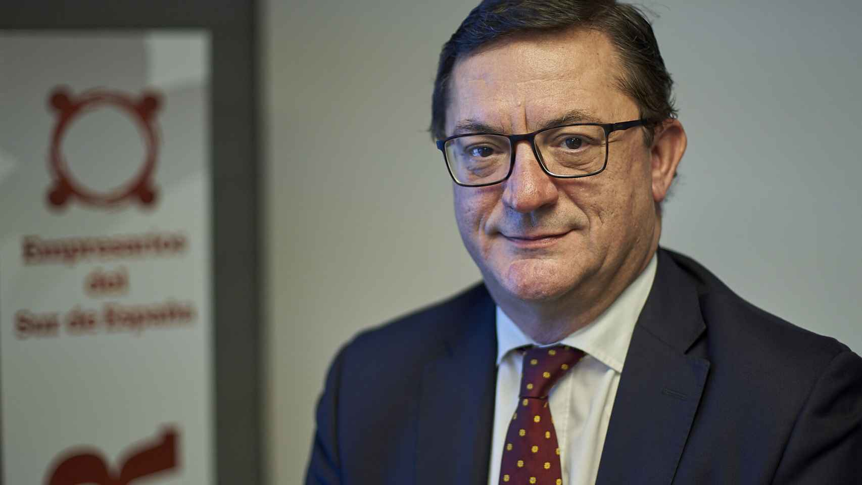 El vicepresidente ejecutivo de la Asociación de Empresarios del Sur de España (CESUR), Fernando Seco.