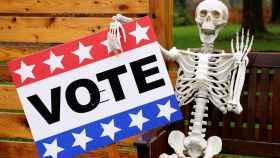Campaña electoral en tiempos de Halloween.