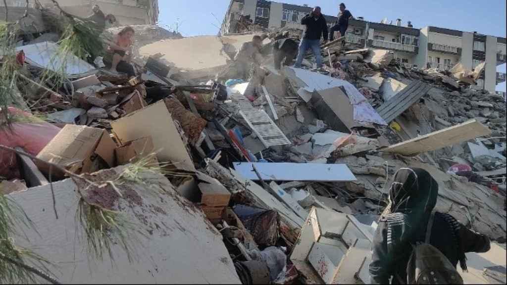 Imagen del terremoto que ha sacudido Grecia y Turquía. @amna-news