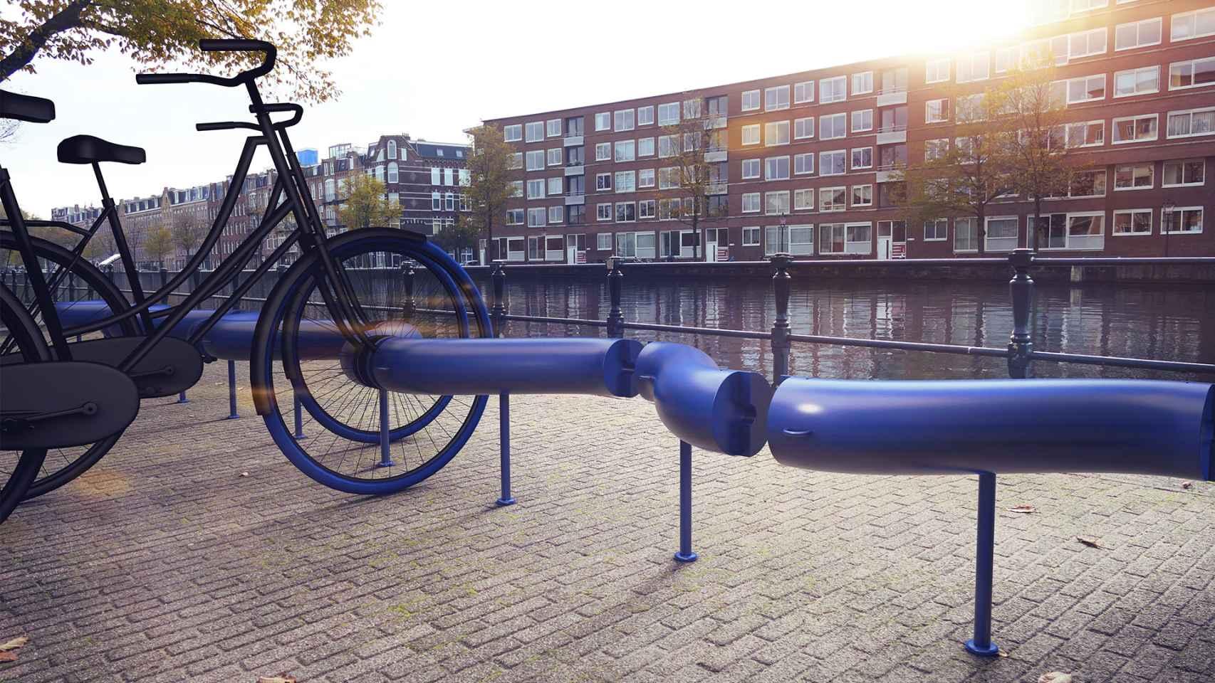 Estacionamiento de bicis de S-Park