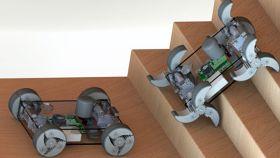Idean unas ruedas que se convierten en patas: los robots cambiarán para siempre