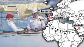 La vuelta de Juan Carlos a España en noviembre tiene un motivo claro: las regatas.