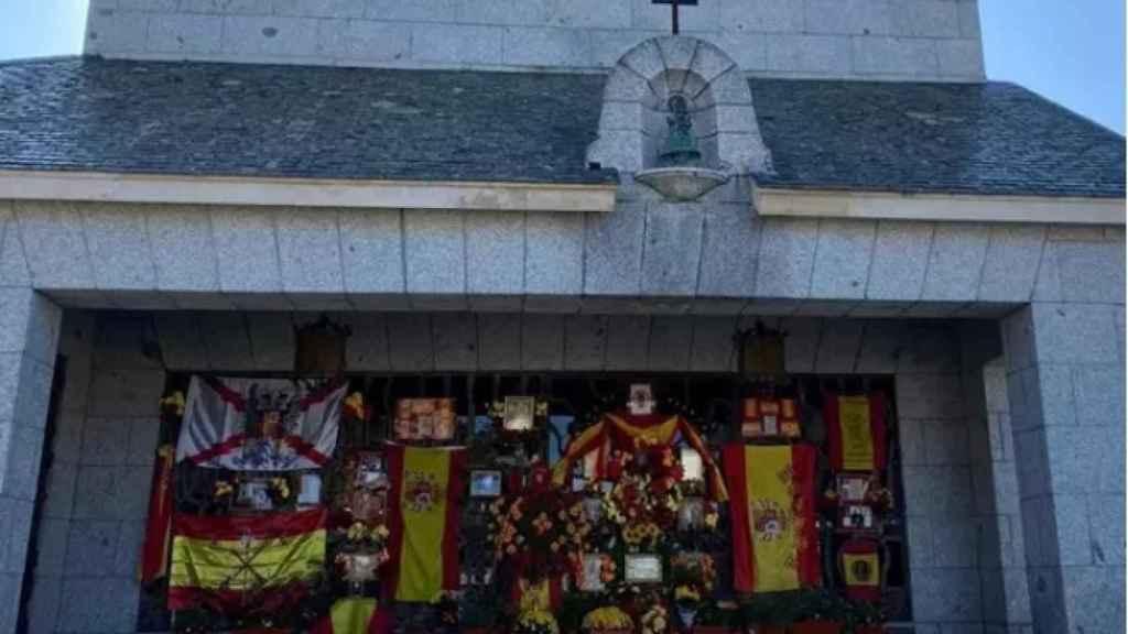 El panteón de Franco en Mingorrubio. EP.