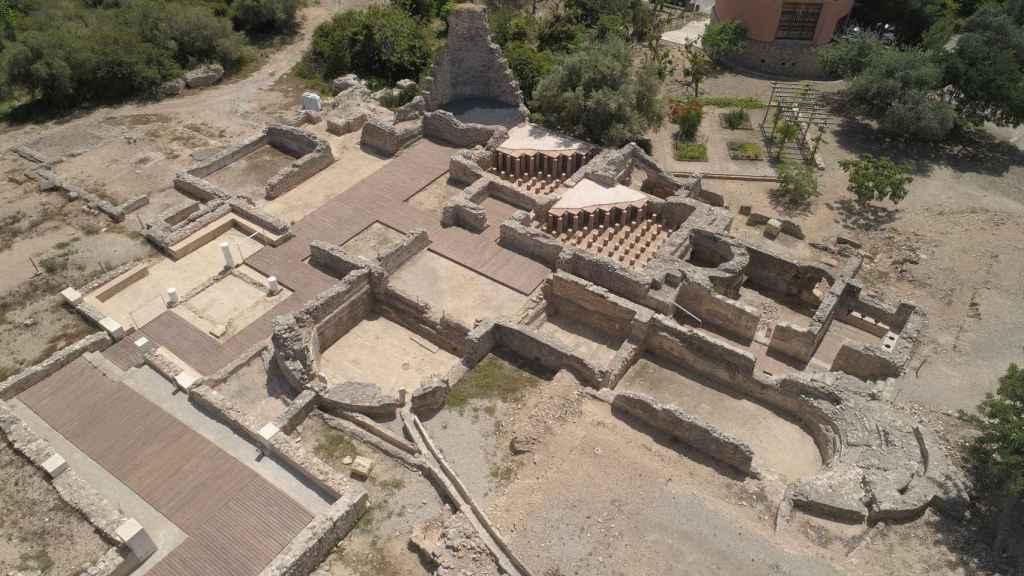 Villa romana de Els Munts, en Altafulla, Tarragona.
