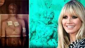 Heidi Klum ha innovado en su forma de presentar su disfraz de Halloween este año.