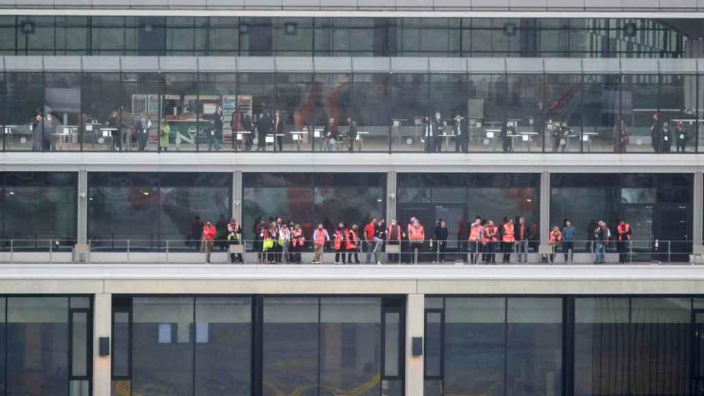 Inauguración del aeropuerto de Berlín.
