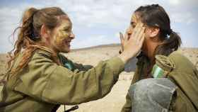 Dos mujeres soldados israelíes.