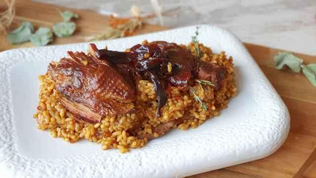 Arroz con pitu Caleya, la receta infalible de La Guisandera de Piñera