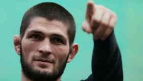 El luchador ruso Khabib Nurmagomédov