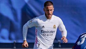 Hazard encara a un defensor del Huesca