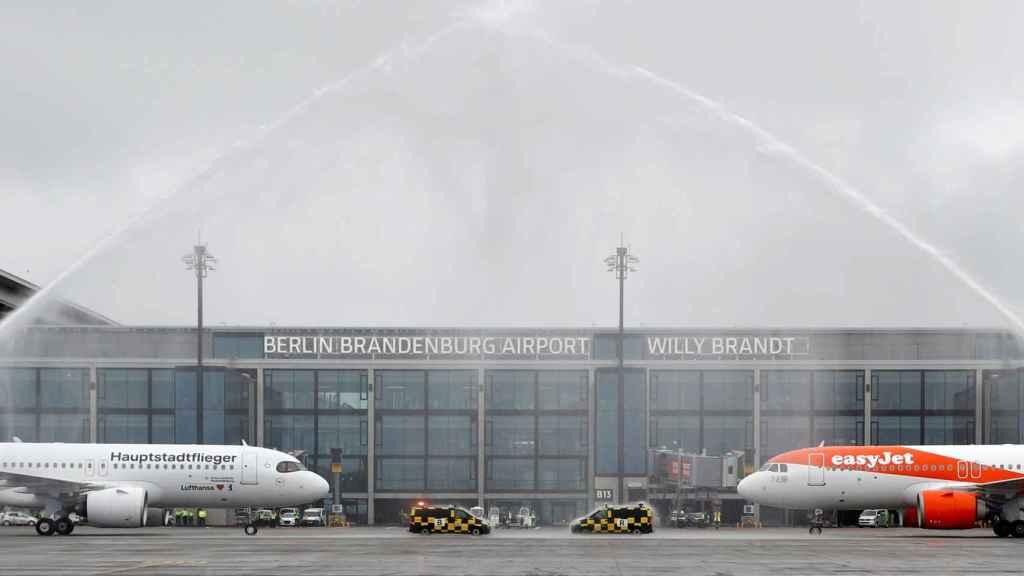 Inauguración aeropuerto de Berlín.