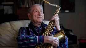 El saxofonista Pedro Iturralde.