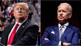 Donald Trump se enfrenta a Joe Biden en unas reñidas elecciones este martes.
