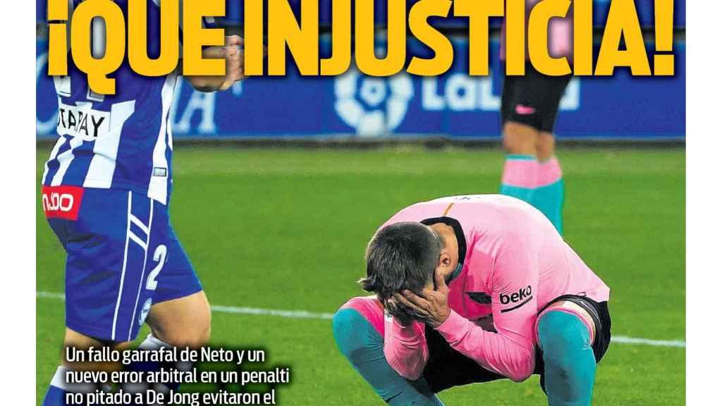 Portada Sport (01/01/20)