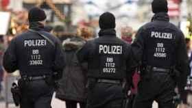 La policía alemana en una imagen de archivo.