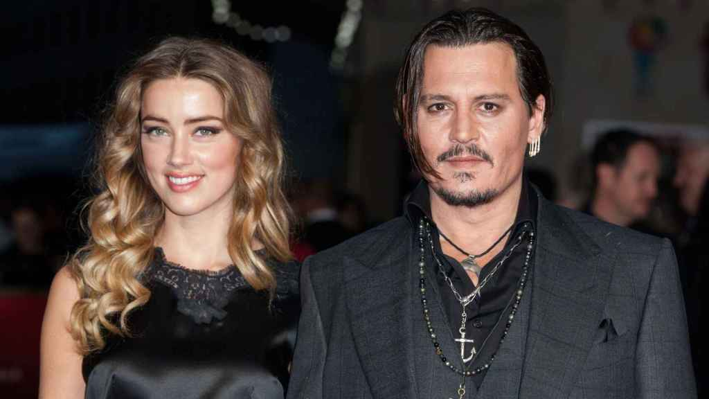 Johnny Depp y Amber Heard.